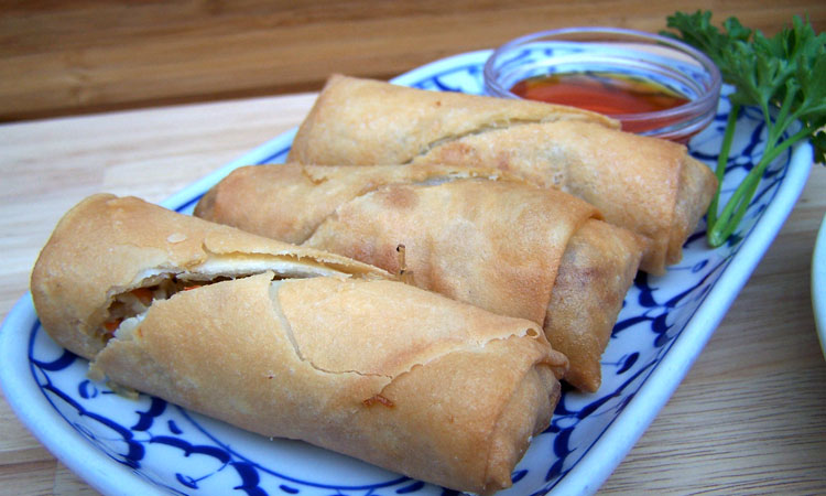 Spring Rolls (deep fried)