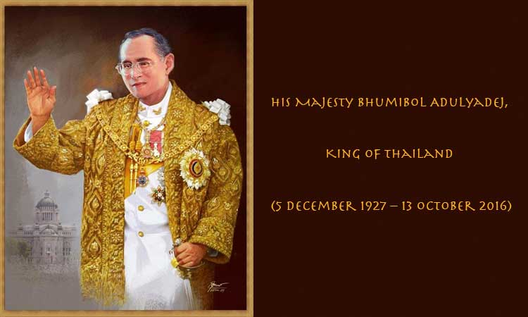 The Late King of Thailand